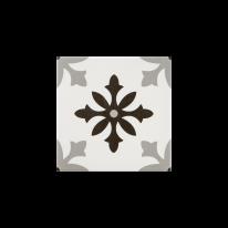 스노우플레이크 화이트 패턴타일 200x200 (REP-03) 1BOX 25장