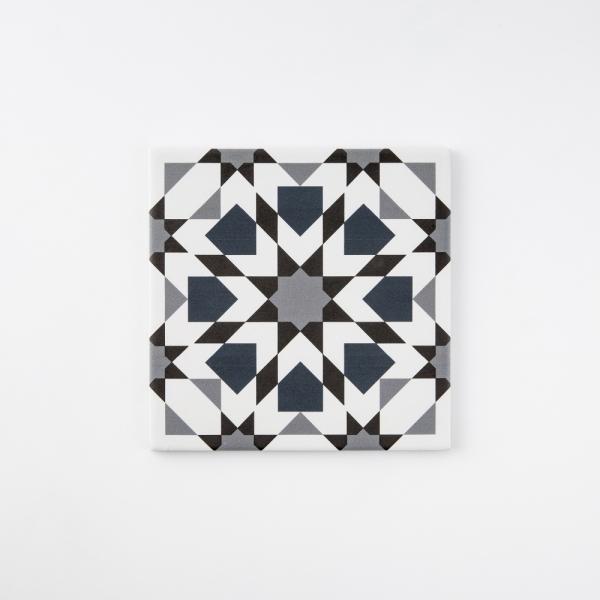칼레이도 네이비 패턴타일 200x200 (REP-11) 1BOX 25장