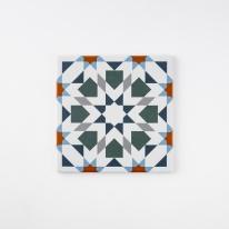 칼레이도 오렌지 패턴타일 200x200 (REP-12) 1BOX 25장