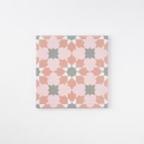 데칼코마니 핑크 패턴타일 200x200 (REP-20) 1BOX 25장