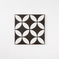 홀리라이트 블랙 패턴타일 200x200 (REP-07) 1BOX 25장