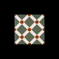 츄러스 그린 패턴타일 200x200 (REP-24) 1BOX 25장