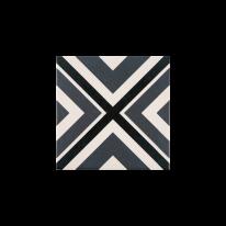 스퀘어 네이비 패턴타일 200x200 (REP-25) 1BOX 25장