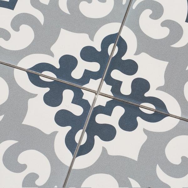 타지마할 블루 패턴타일 200x200 (REP-36) 1BOX 25장
