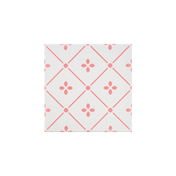 체리블라썸 핑크 패턴타일 200x200 (REP-01) 1BOX 25장