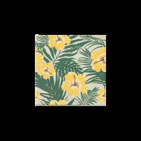 히비스커스 옐로우 패턴타일 200*200 (REP-50) 1BOX25장