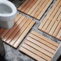 소나무 원목 화장실 욕실 현관용 나무발판