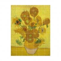 인테리어 월아트 익시 - Sunflowers