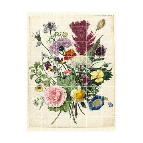 인테리어 월아트 익시 - Bouquet of Flowers