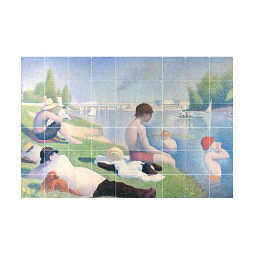 인테리어 월아트 익시 - Bathers at Asnieres