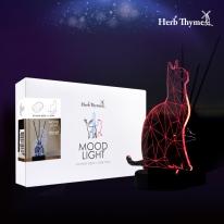 허브타임 3D아크릴 LED조명 USB무드등 - 고양이