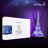 허브타임 3D아크릴 LED조명 USB무드등 - 에펠탑