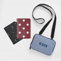 공간채움 여권 지갑 케이스 커버 파우치