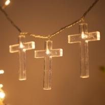 LED 전구캡 십자가(5개입)[트리]
