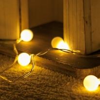 LED 전구캡 미니앵두볼 (10개입) [트리]