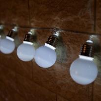 LED 전구캡  백열전구 50Ø(mm) (2개) 백색 [트리]