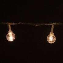 LED 전구캡 투명볼 (10개입) [트리]