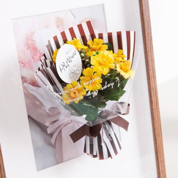 미니소국꽃다발 15cm(조화)