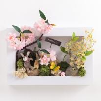 안개벚꽃액자set 29cmP