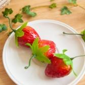 딸기(5개입) FOFDFT 모조과일 모형 빵 채소