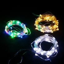 멀티 LED 100P드럼전구 투명선 트리 전구 소품 TRDELB