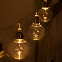 LED 전구캡 백열전구 투명 60mm(2PCS) 전구캡 TRLECV