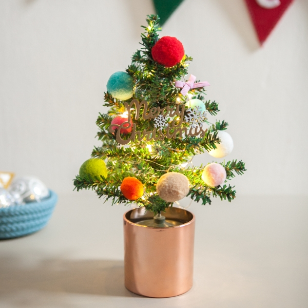 퐁퐁트리화분set 28cmP 크리스마스 트리 장식 TRHMES
