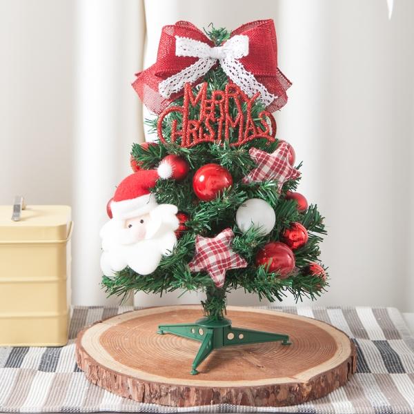 쿠션별산타 트리 30cmP 크리스마스 장식 미니 TRHMES