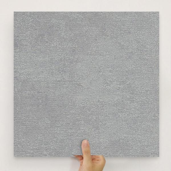 [유니크] 사각조각 시트&벽지(회벽 다크) / MP40-1662