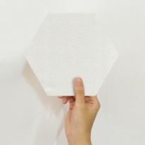 [유니크] 육각 데코스티커(뱀피 아이보리) / PS60-1671