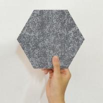 [유니크] 육각 데코스티커(페인팅 블랙) / PS60-16104