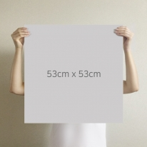 [무지막지] 더큰 THE조각벽지(1롤9조각-가로1M벽 시공가능)/무이 라이트그레이/ MG09-P406