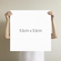 [무지막지] 더큰 THE조각벽지(1롤9조각-가로1M벽 시공가능)/무이 화이트/ MG09-P402