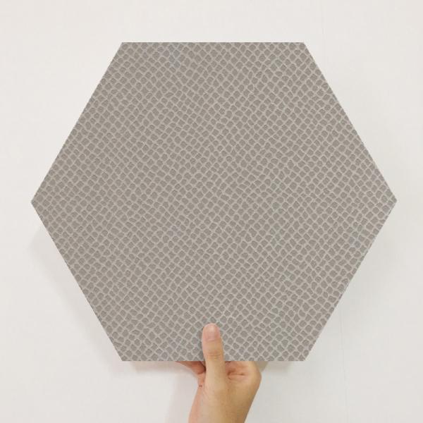 [유니크] 육각조각 시트&벽지(뱀피 브라운) / MP60-1674
