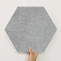 [유니크] 육각조각 시트&벽지(회벽 다크) / MP60-1662