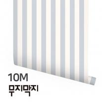 [무지막지] 풀바른 롤실크 벽지 10M / 멀티라인 스트롱 / MT10035