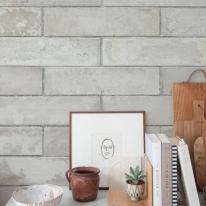 [무지막지]워터풀 조각벽지 스톤그레이 60장조각 (53cmx34cmx60장)