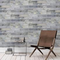 [무지막지]워터풀 조각벽지 스톤 블루그레이 01장조각 (53cmx34cmx01장)
