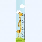[유니크 만능스티커 키재기포인트벽지] 키재기동물농장7기린 포인트시트 SS24-811 (가로53cmx세로2.4m)