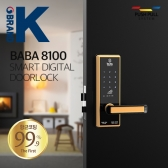 무타공 디지털 스마트 카드키 도어락 바바 BABA8100