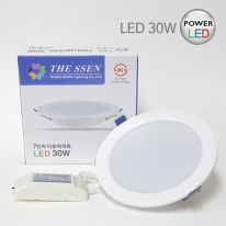 더쎈 7인치 다운라이트 LED 30W 매입등