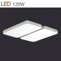 [키고조명]시스템 거실등 LED120W 화이트 주광색