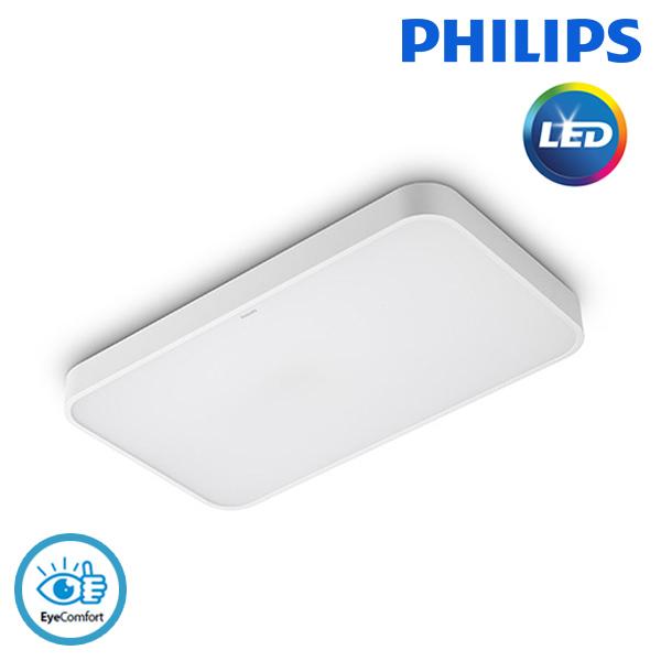 필립스 시스템 LED 40W 직사각 방등 / 거실등 주광색
