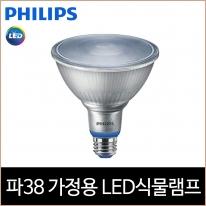 필립스 LED 가정용 식물램프 PAR38 백색광