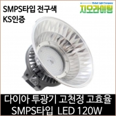 지오라이팅 다이아 투광기 SMPS LED 120W 전구색