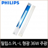 필립스 MASTER PL-L 4핀 Deluxe 형광램프 36W 주광색