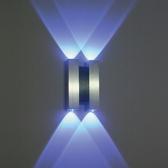 LED 11자 벽등 청색 외부등 포인트등 인테리어등