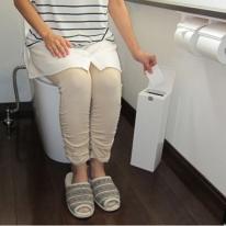 일본수입생활용품 아이콤보 변기솔 휴지통 일체형
