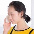 일본 모공청소&각질제거 극세사 세면 페이스타올(온천유황함유)