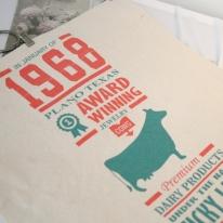 [모모제작소] 패브릭 포스터 시카고 옥스포드 가리개 29x35